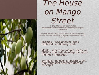 the dwelling at mango road themes