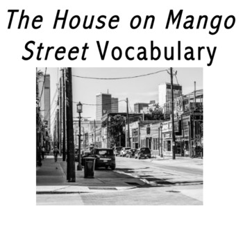 The House on Mango Street Vocabulary (Word Search)