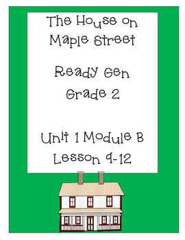 ReadyGen Worksheets Gr. 2 Unit 1B Lessons 9-12 The House o