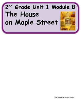 ReadyGen The House on Maple Street Vocabulary 2nd Grade  Unit 1 Module B