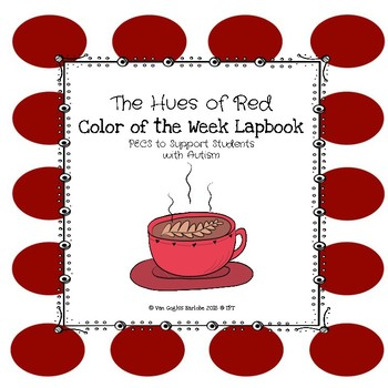 Red Color of the Week Lapbook