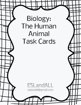 The Human Animal Task Cards