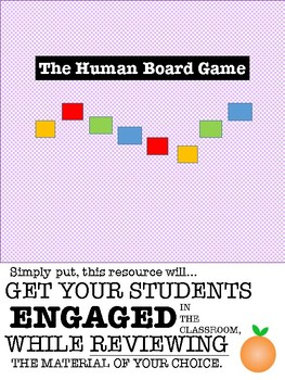 The Human Board Game | Engaging Review Activity for Any Subject