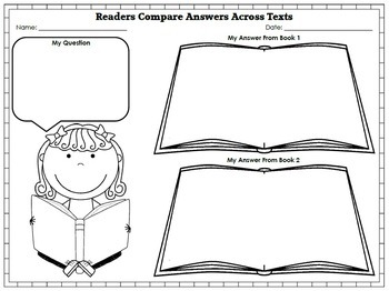 The Human Body [Comparing & Contrasting Texts] Reading Unit of Study