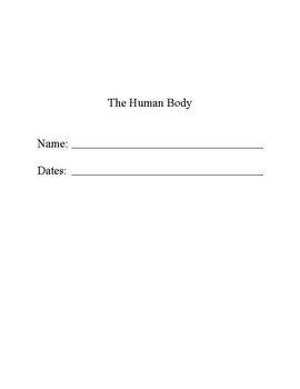 The Human Body - Student Question Book