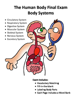 The Human Body Systems Test or Final Exam