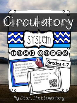 The Circulatory System {QR TASK CARDS}