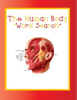 The Human Body Word Search *FREEBIE*