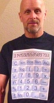 The Human Calculator Costume