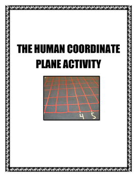 The Human Coordinate Plane Activity