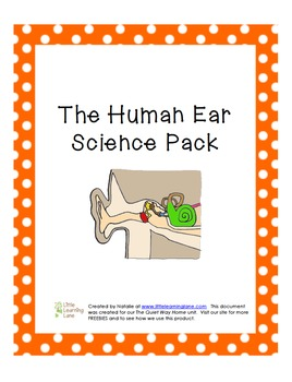 The Human Ear Science Pack