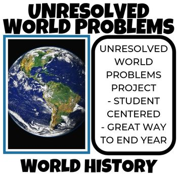 Unresolved World Problems of the World Project