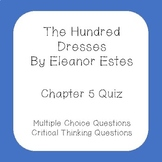 The Hundred Dresses Chapter 5 Quiz
