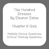 The Hundred Dresses Chapter 6 Quiz
