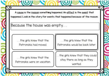 The Hundred Dresses-Chapter 6 Vocabulary & Comprehension - BOOM Cards