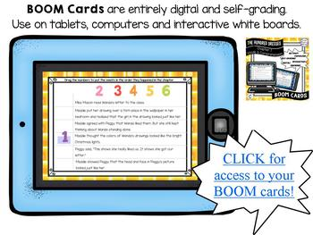 The Hundred Dresses-Chapter 7 Vocabulary & Comprehension - BOOM Cards