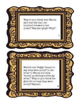 The Hundred Dresses Discussion Cards