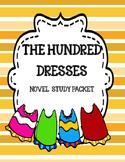 The Hundred Dresses Novel Study Unit