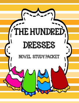 The Hundred Dresses Novel Study Unit