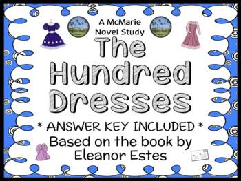 The Hundred Dresses (Eleanor Estes) Novel Study / Comprehe