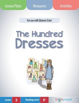 The Hundred Dresses Lesson Plan  (Book Club Format - Characters) (CCSS)