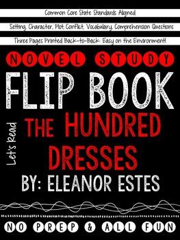 The Hundred Dresses: A Novel Study Flip Book!