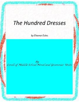 The Hundred Dresses Literature and Grammar Unit