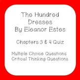 The Hundred Dresses Quiz Chapters 3 & 4