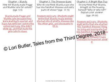 The Hundred Dresses Read Aloud Write Along