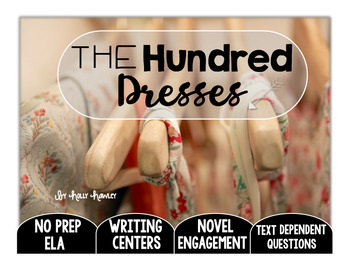 The Hundred Dresses Text Dependent Questions
