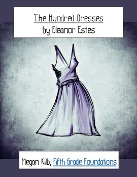The Hundred Dresses by Eleanor Estes worksheet