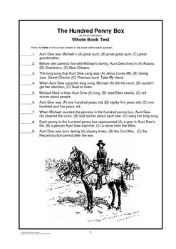 Hundred Penny Box     Whole Book Test