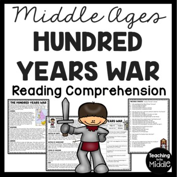 The Hundred Years War article, questions, Middle Ages, European History