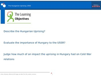 The Hungarian Uprising 1956 PPt