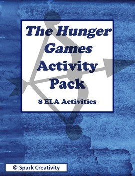 The Hunger Games Activity Pack: 8 No-Prep ELA Activities
