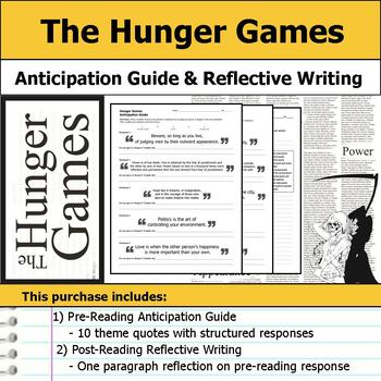 The Hunger Games - Anticipation Guide & Reflection