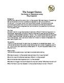 The Hunger Games Blog Lesson Plan