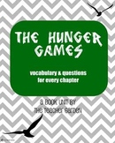The Hunger Games (By Suzanne Collins) vocabulary and questions