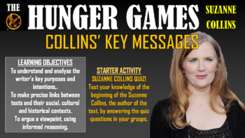 The Hunger Games - Collins' Key Messages!