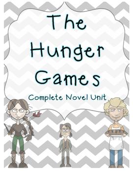 The Hunger Games: Complete Novel Unit!