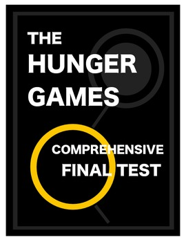 The Hunger Games - Comprehensive Test and Complete Answer Key!