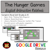 The Hunger Games Digital Interactive Notebook Distance Learning