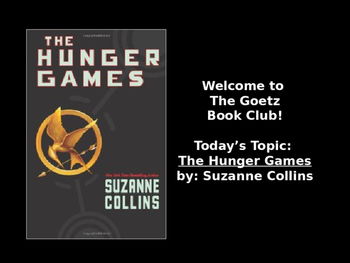 The Hunger Games (Suzanne Collins) Book Club Discussion/Trivia
