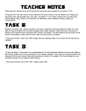 The Hunger Games District Tasks 2 & 3