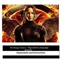 The Hunger Games - Figurative Language Activity