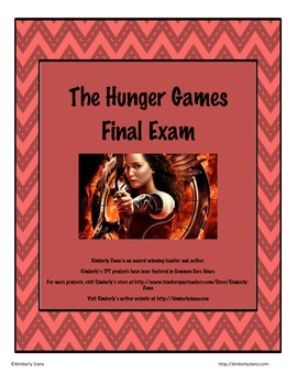 The Hunger Games Final Exam Test