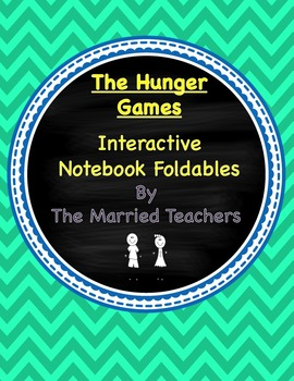 The Hunger Games Interactive Literature and Grammar Notebook Foldables