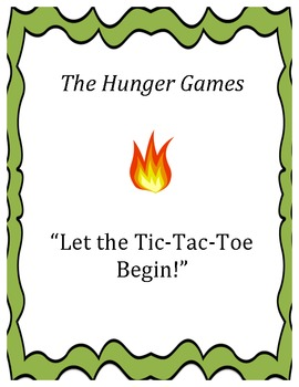 "The Hunger Games:  ""Let the Tic-Tac-Toe Begin!"""