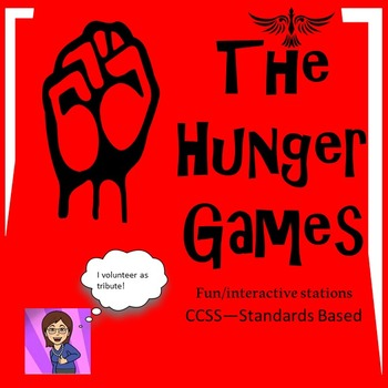 The Hunger Games Literacy Stations