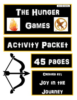 The Hunger Games MEGA Activity Packet